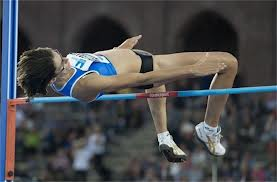 High jumper Tia Hellabaut
