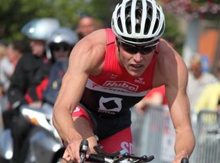 Triathleet Simon De Cuyper