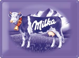 Milka cow