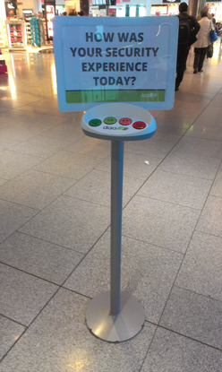 Customer Experience Meter - Dublin Airport