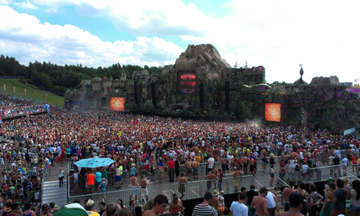 Tomorrowland 2013 - Main stage