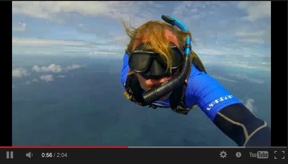 Scuba Sky Diving