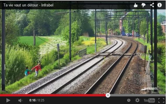 Infrabel shock filmpje